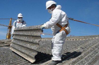 Prohibición del asbesto