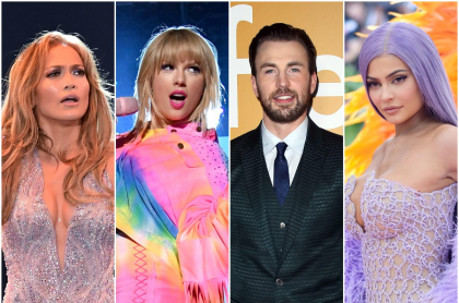 Jennifer Lopez / Taylor Swift / Chris Evans / Kylie Jenner