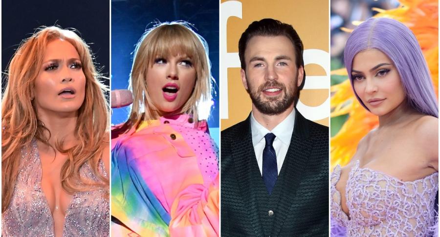 Jennifer Lopez / Taylor Swift / Chris Evans / Kylie Jenner