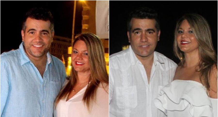 Carlos Calero y Paulina Ceballos
