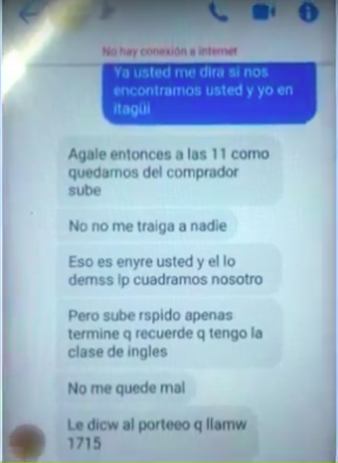 Chat del chantaje