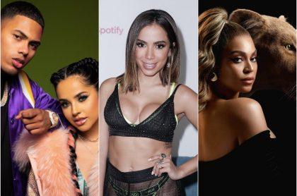 Myke Towers y Becky G / Anitta / Beyoncé