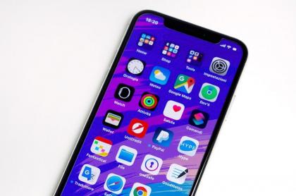 Notch de un iPhone
