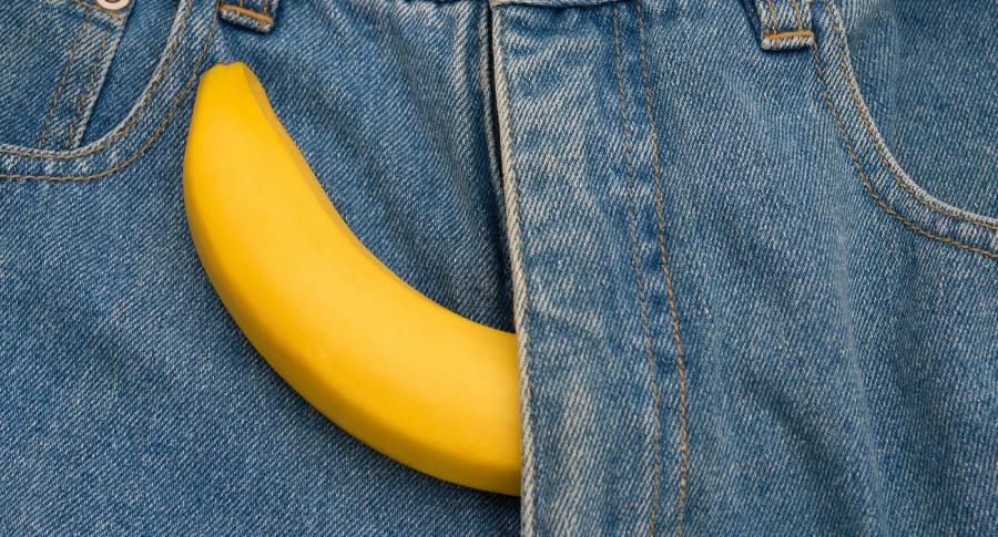 Pene tipo banana