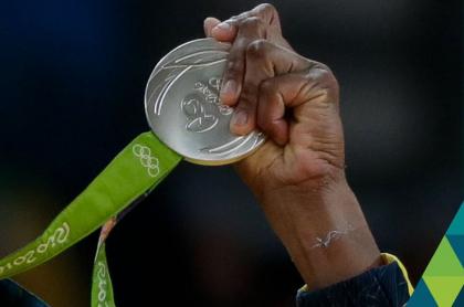 Colombiano con medalla olímpica