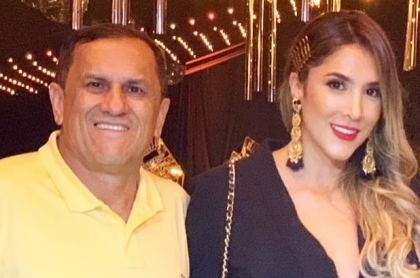Hernán Ospina y Daniela Ospina