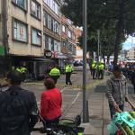 Balacera en Bogotá