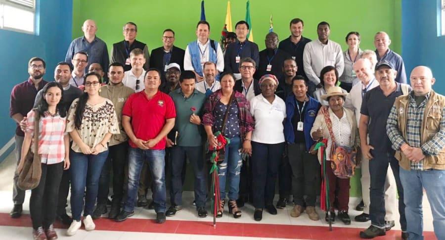 El Consejo de Seguridad de la ONU en diálogo con líderes sociales del Cauca