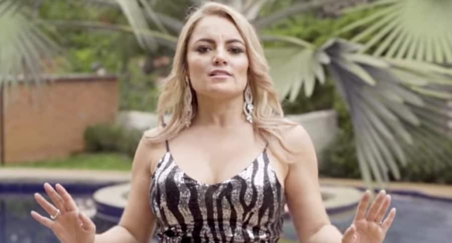 Lina Barrientos, cantante de Las Hermanitas Calle.