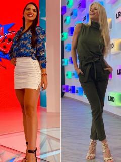 'Mafe' Romero y Mary Méndez, presentadoras.