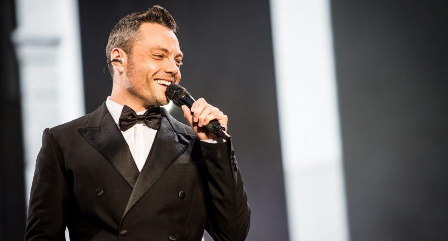 Tiziano Ferro, cantante.