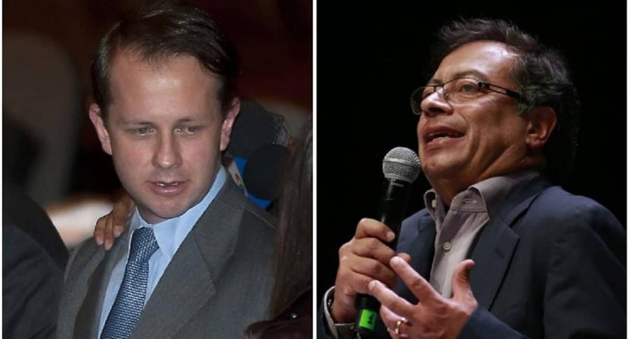 Andrés Felipe Arias y Gustavo Petro