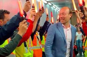 Así fue la bienvenida (con 'bombos y platillos') que le hicieron al nuevo CEO de Avianca