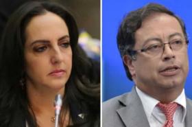 """María F. Cabal llama """"pajudo"""" a Petro por meter a su familia en los subsidios de Arias"""