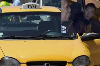 Presunto taxista amenaza a conductor de Uber.