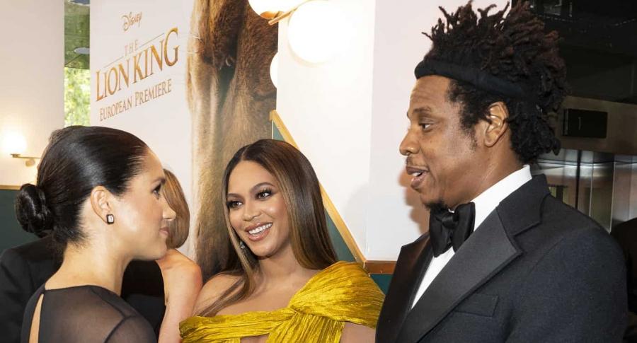 Meghan Markle Beyoncé y Jay Z