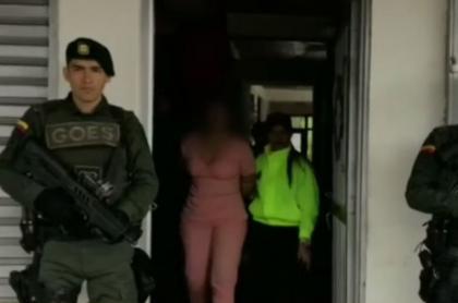 Captura de traficantes de marihuana