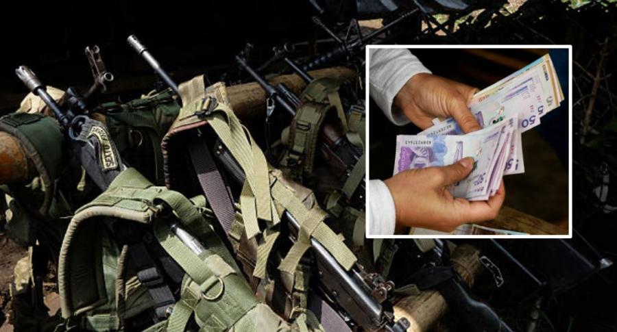 Armas y dinero Colombia