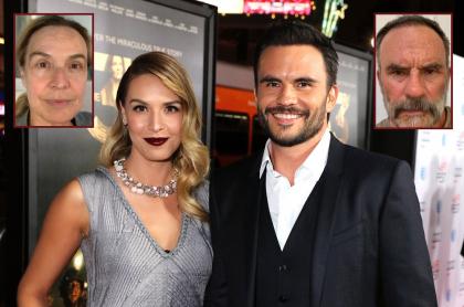 Mónica Fonseca, presentadora, y su esposo Juan Pablo Llano, actor.