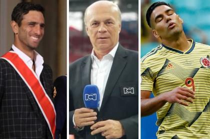 Robert Farah, Carlos Antonio Vélez y Falcao García