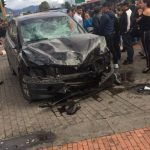 Accidente en Bulevar Niza
