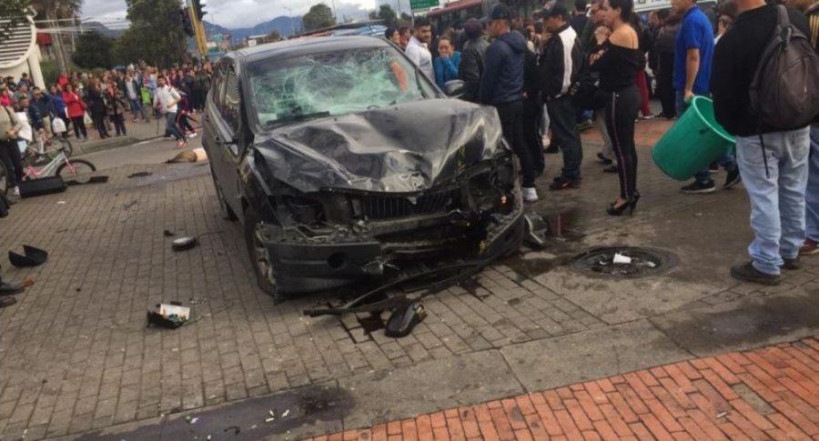 Accidente en Bulevar Niza