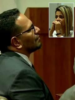 [Video] Teniente se miró a la cara con capitán al que acusa de violarla en una fiesta