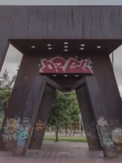 Se restauró escultura olvidada de Bogotá y así luce ahora; ¿cuánto durará?