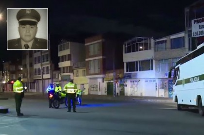 Asesinato de policía en Bogotá