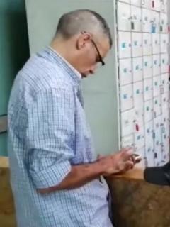 Hombre detenido en Medellín