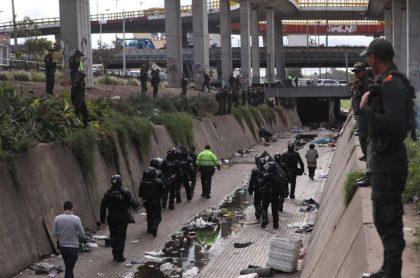 Intervención a canal Los Comuneros