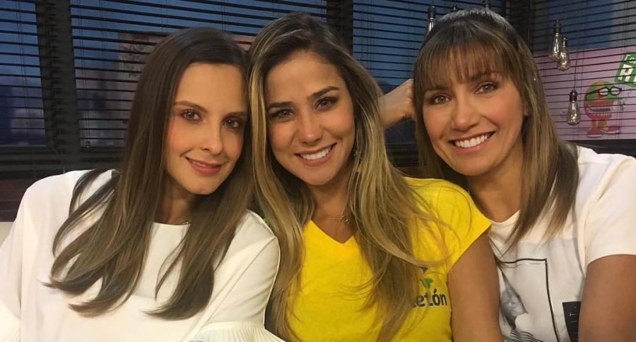 Laura Acuña, Zahira Benavides y Adriana Betancur