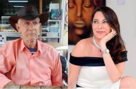 Julio del Mar y María Helena Doering, actores.