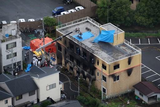 Incendio en Japón