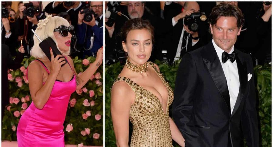 Lady Gaga / Bradley Cooper e Irina Shayk