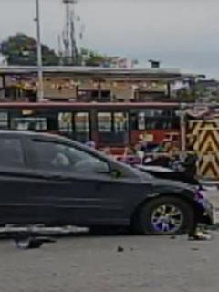 Revelan foto de mujer en camioneta que arrolló a 8 personas y mató a 2, en Niza (Bogotá)