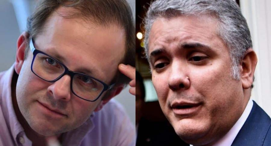 Andrés Felipe Arias e Iván Duque