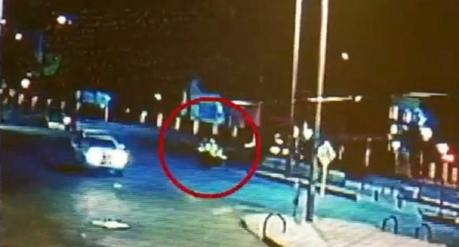 Video de asesinato de policía en calle 80