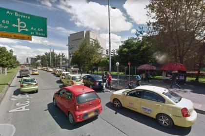 Calle 26 con Avenida 68
