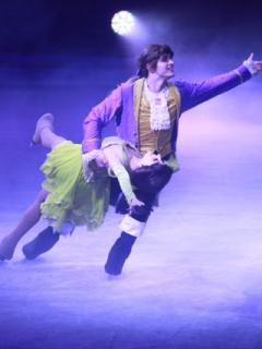 Imágenes del mágico espectáculo de Disney, sobre hielo, que se presenta en Bogotá