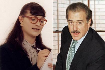 Ana María Orozco, actriz, y Andrés Pastrana, expresidente.