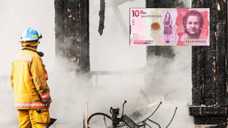 Casa quemada