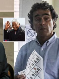 Rafael Pardo, Nelson Mandela y Sergio Fajardo