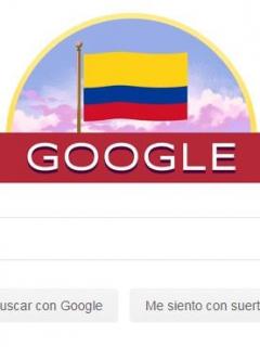 Google dedica un doodle a Colombia por el día de la Independencia
