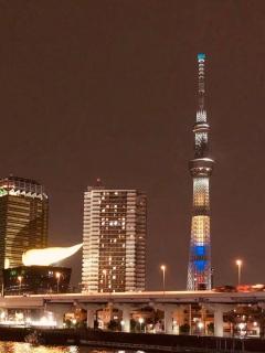 [Fotos] Así se ve la torre más alta de Tokio con los colores de la bandera de Colombia