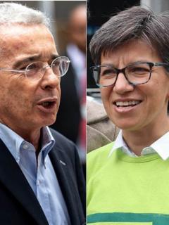 Álvaro Uribe se va (con toda) contra Claudia López por aliarse con Petro