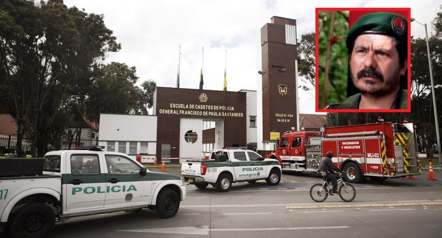 Alias 'Pablito', jefe del Eln, involucrado en atentado de la Escuela General Santander.
