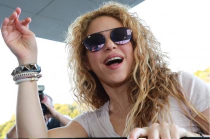 Shakira, cantante.