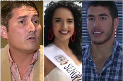 Jhon Jairo Martínez, Eleonora Useche y Elías Lacouture