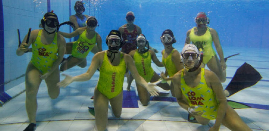 Colombia hockey subacuático